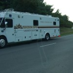 Mobile Command Unit on Southbound Countryside